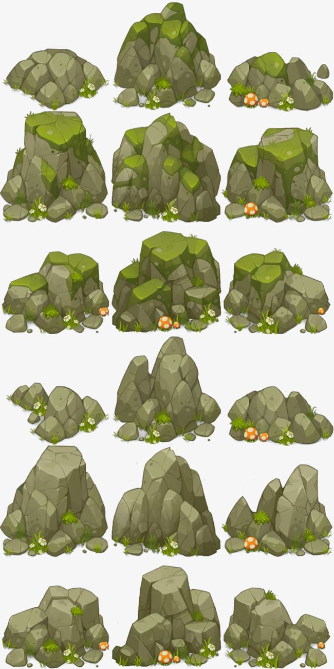 Scatter stones clipart image library library Stone, Rock Hill, Mountain, Rock PNG Transparent Image and ... image library library