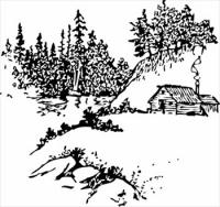 Scenic clipart free black and white png library download Free Scenery Clipart - Free Clipart Graphics, Images and ... png library download