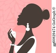 Scent clipart vector royalty free library Perfume Clip Art - Royalty Free - GoGraph vector royalty free library