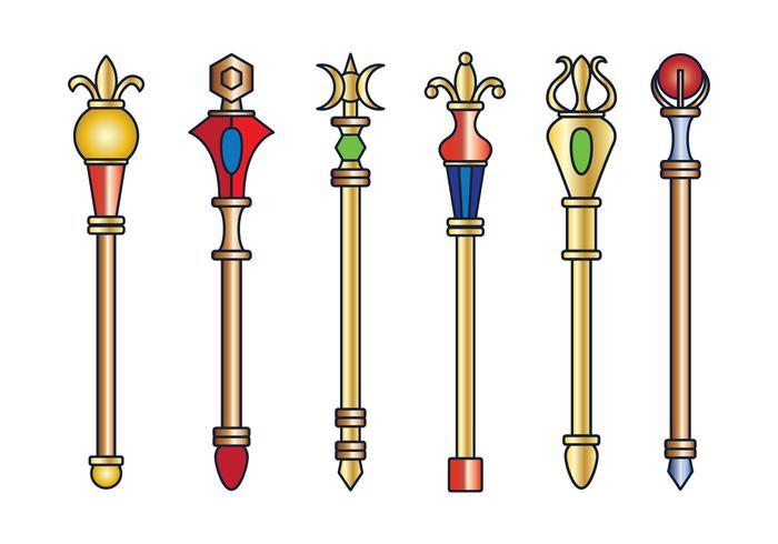 Sceptre clipart clip art transparent Vector Royal Sceptre - Download Free Vectors, Clipart ... clip art transparent
