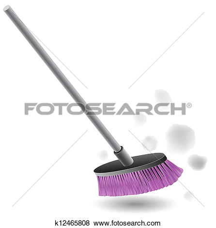 Schaufel und besen clipart vector black and white download Clip Art of broom clip-art vector k16095768 - Search Clipart ... vector black and white download