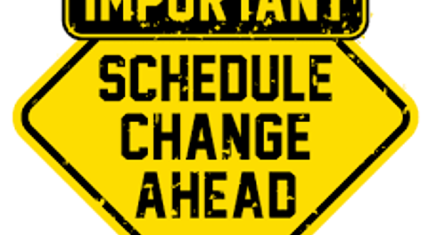 Schedule change clipart image freeuse FURY ANNOUNCE TWO HOME GAME SCHEDULE CHANGES - Ontario Fury image freeuse