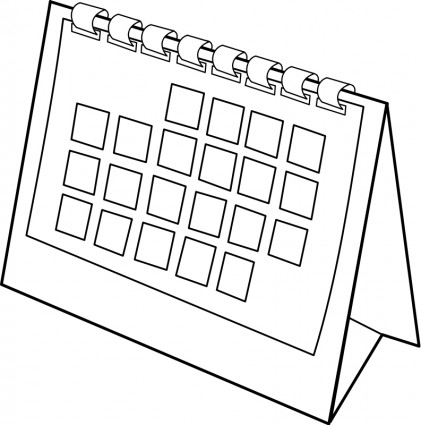 Schedule clipart black and white picture stock Schedule Clipart Black And White picture stock