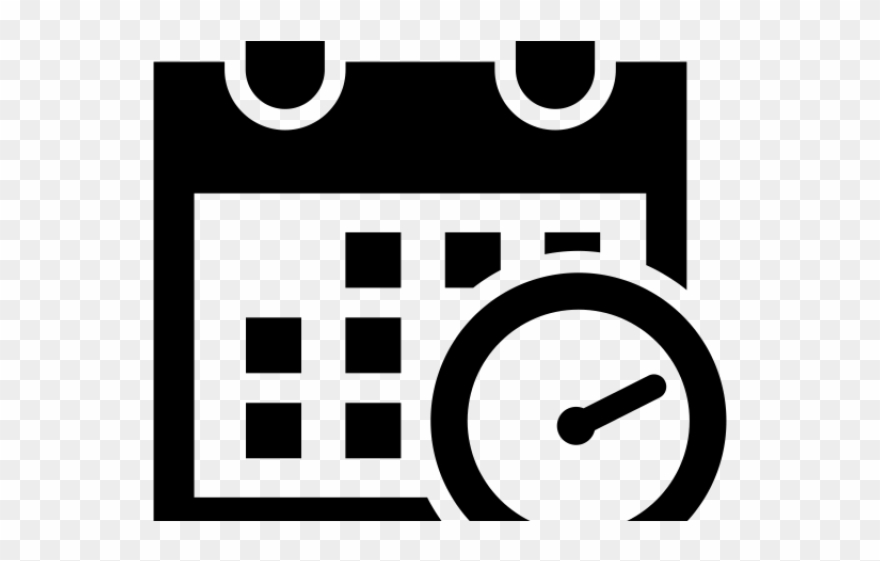 Schedule clipart black and white clipart free download Date Clipart Work Schedule - White Schedule Icon Png ... clipart free download