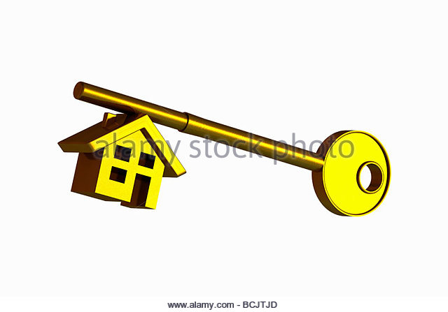 Schlssel haus clipart png 3d House On White Background Stockfotos und 3d House On White ... png