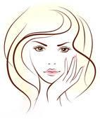 Schne frau clipart svg transparent library Beauty Salon Clip Art - Royalty Free - GoGraph svg transparent library