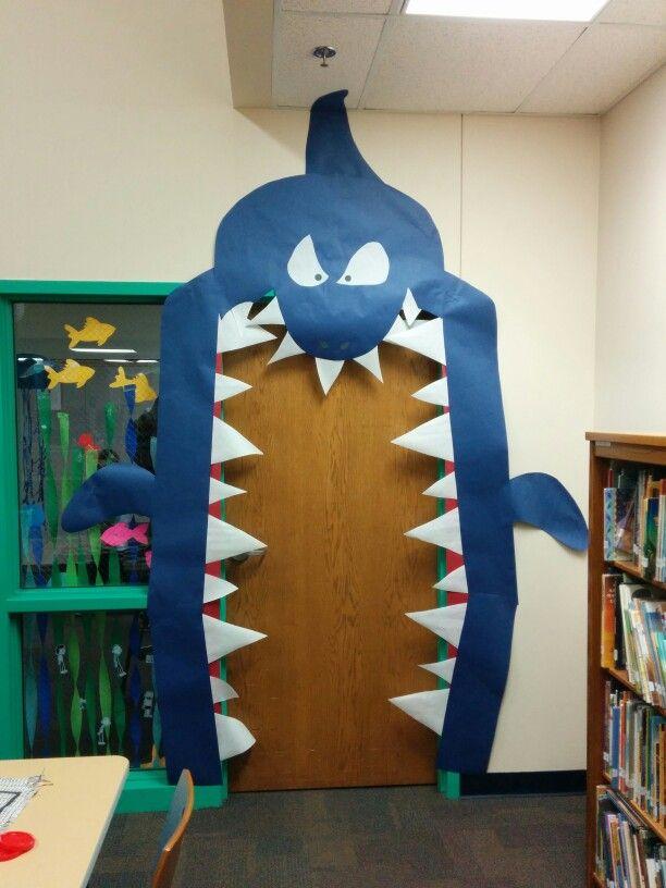 Scholastic book fair under the sea clipart clip art stock My shark door for Under the Sea Scholastic book fair ... clip art stock