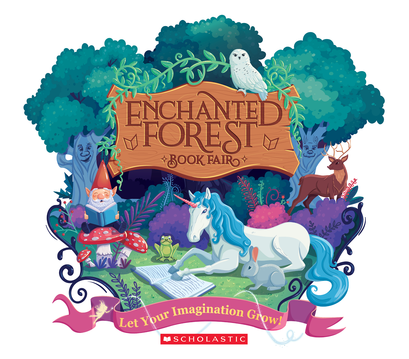 Scholastic book fair under the sea clipart image black and white stock EEHSP Book Fair – Enfield / Erdenheim Home & School Partnership image black and white stock