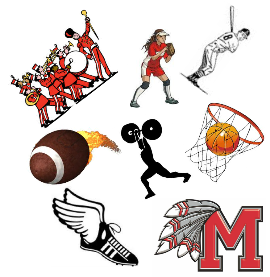 School activities clipart png black and white Extracurricular Activities - Maysville Public Schools -