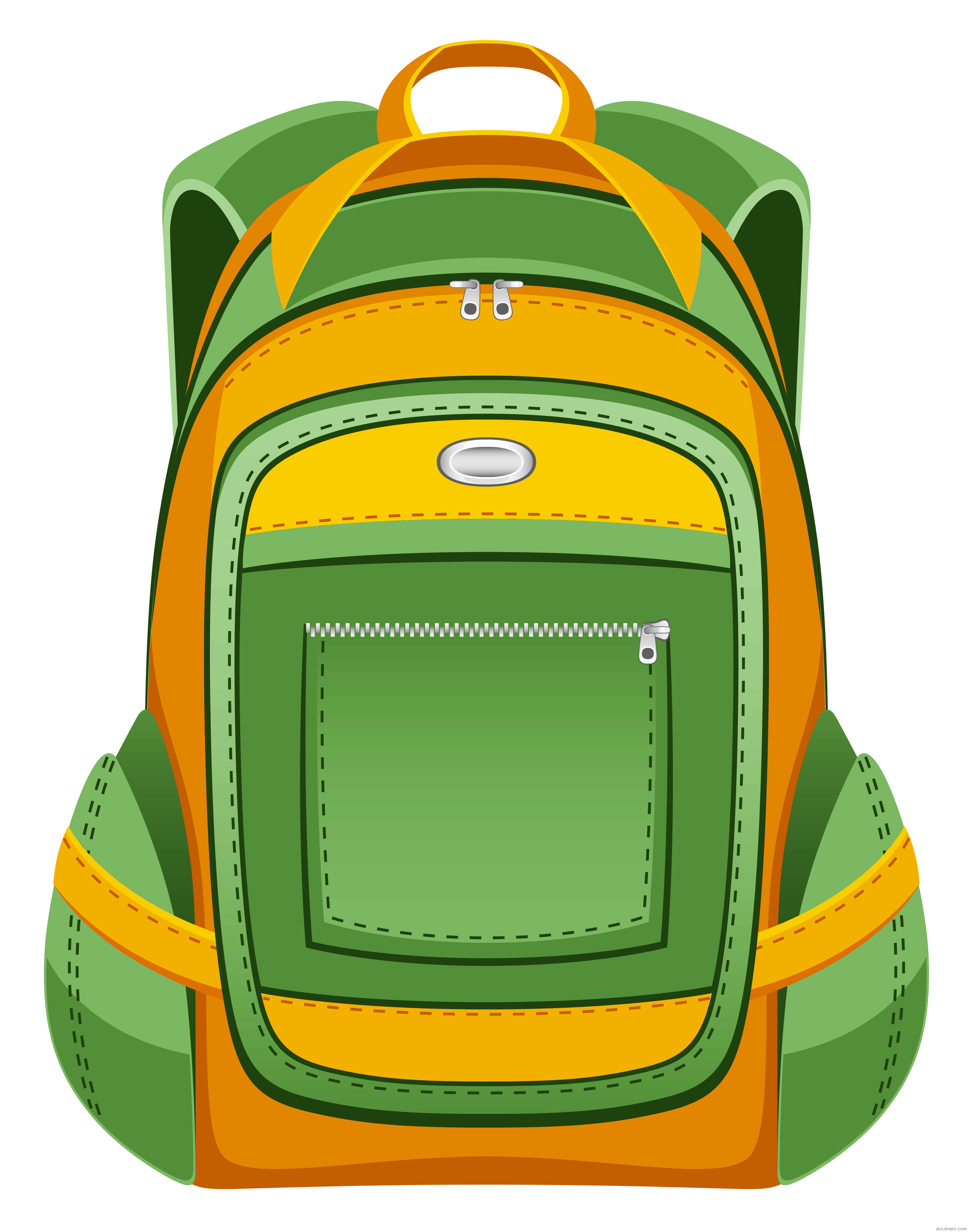 School backpack clipart vector transparent School Backpack Clipart - BClipart vector transparent