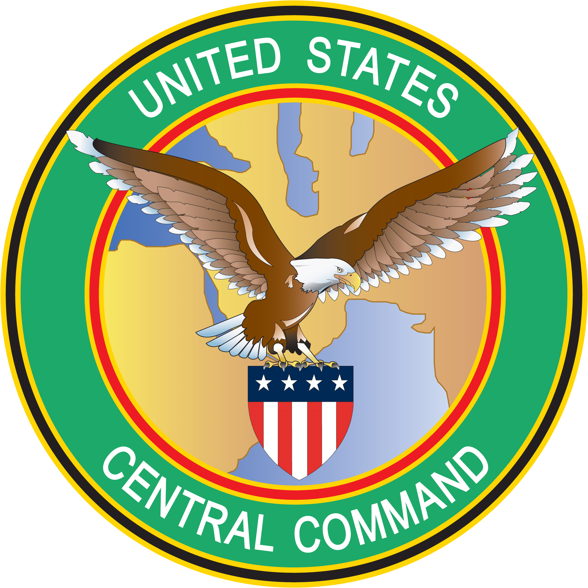 School library clipart svg freeuse download File:Seal of the United States Central Command.png - Wikimedia Commons svg freeuse download