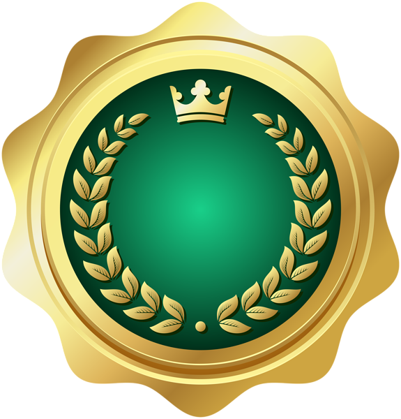 Seal Badge Green PNG Transparent Clip Art | Gallery Yopriceville ... library