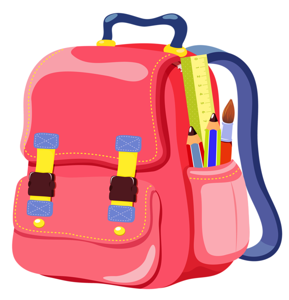 School bags clipart graphic black and white download Gallery - School Clipart graphic black and white download
