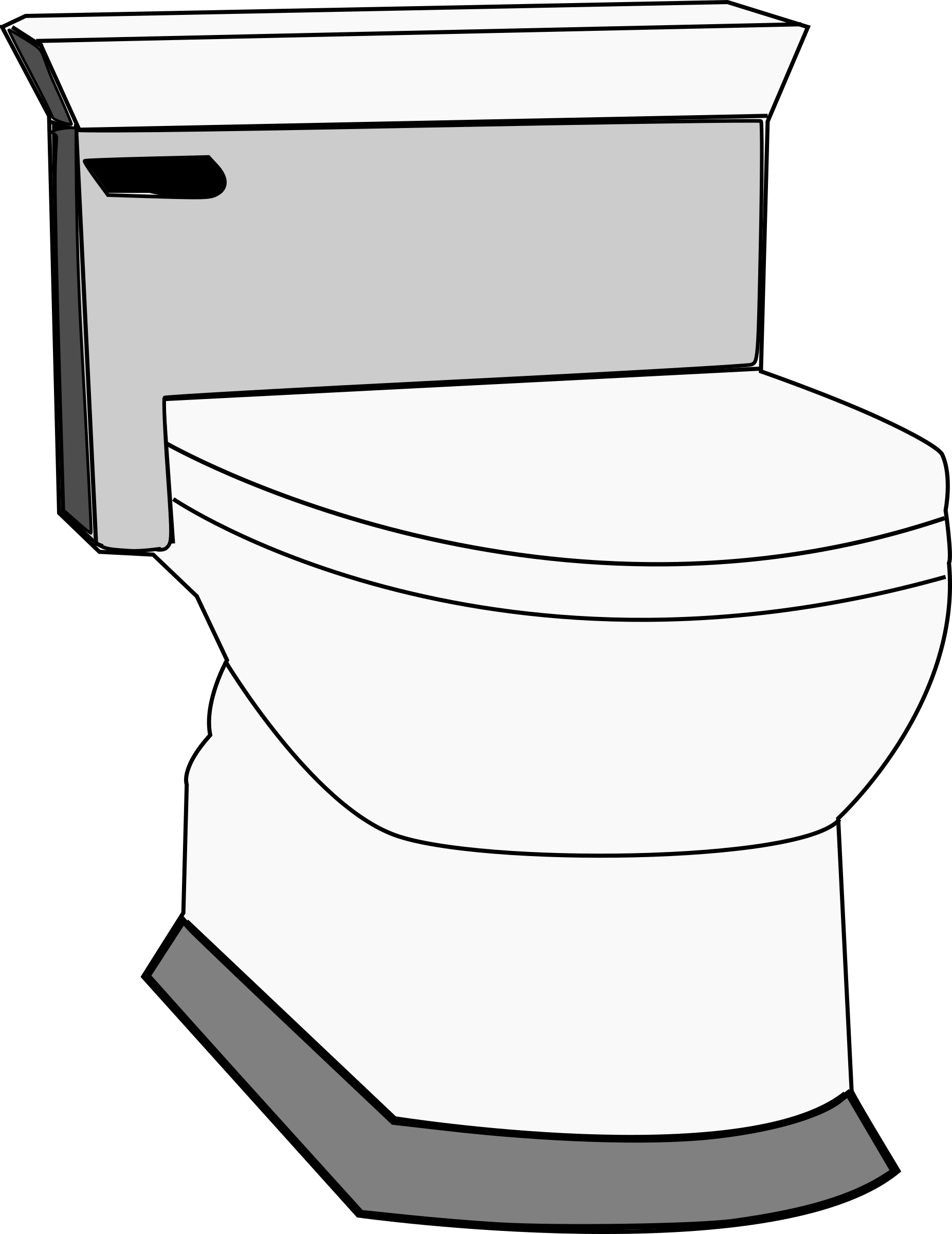 School bathroom clipart freeuse Clipart - Toilet freeuse