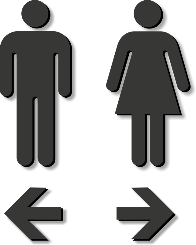 School bathroom stalls clipart png freeuse library Restroom Signs | Bathroom Signs png freeuse library