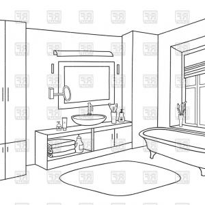 School bathroom line clipart black and white svg free library School Bathroom Clipart Black And White | SOIDERGI svg free library