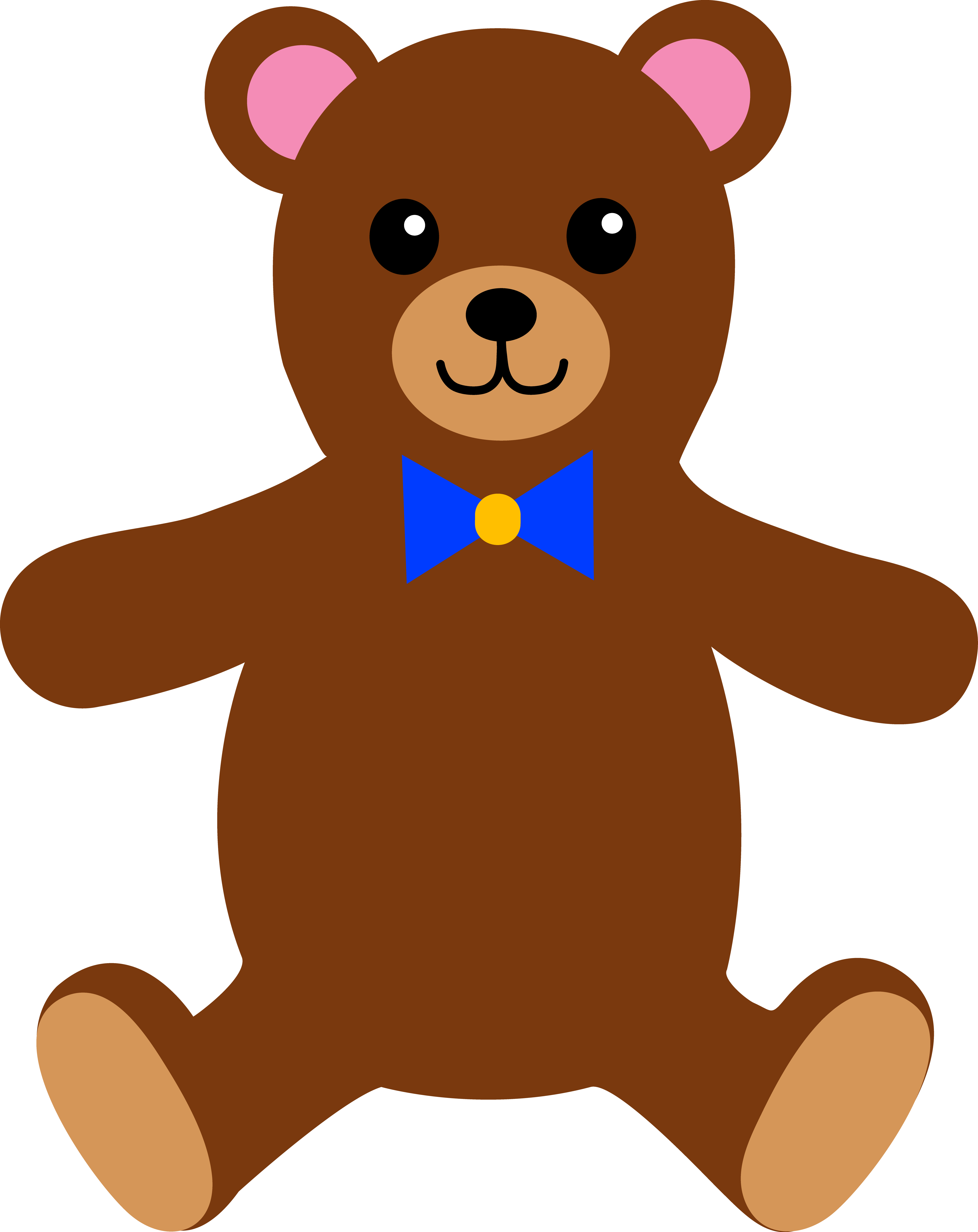 Stuffed dog clipart clip transparent library Brown Teddy Bears Clipart clip transparent library