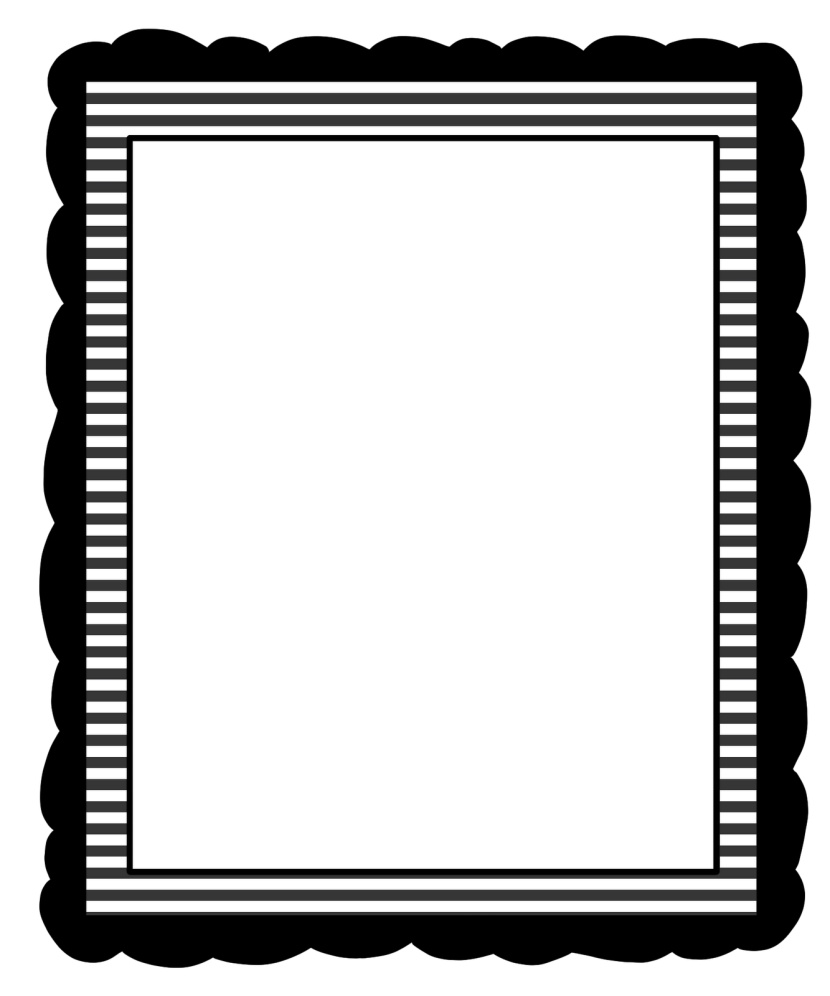 School border clipart black and white banner freeuse download Black and white borders clipart - Clipartix banner freeuse download