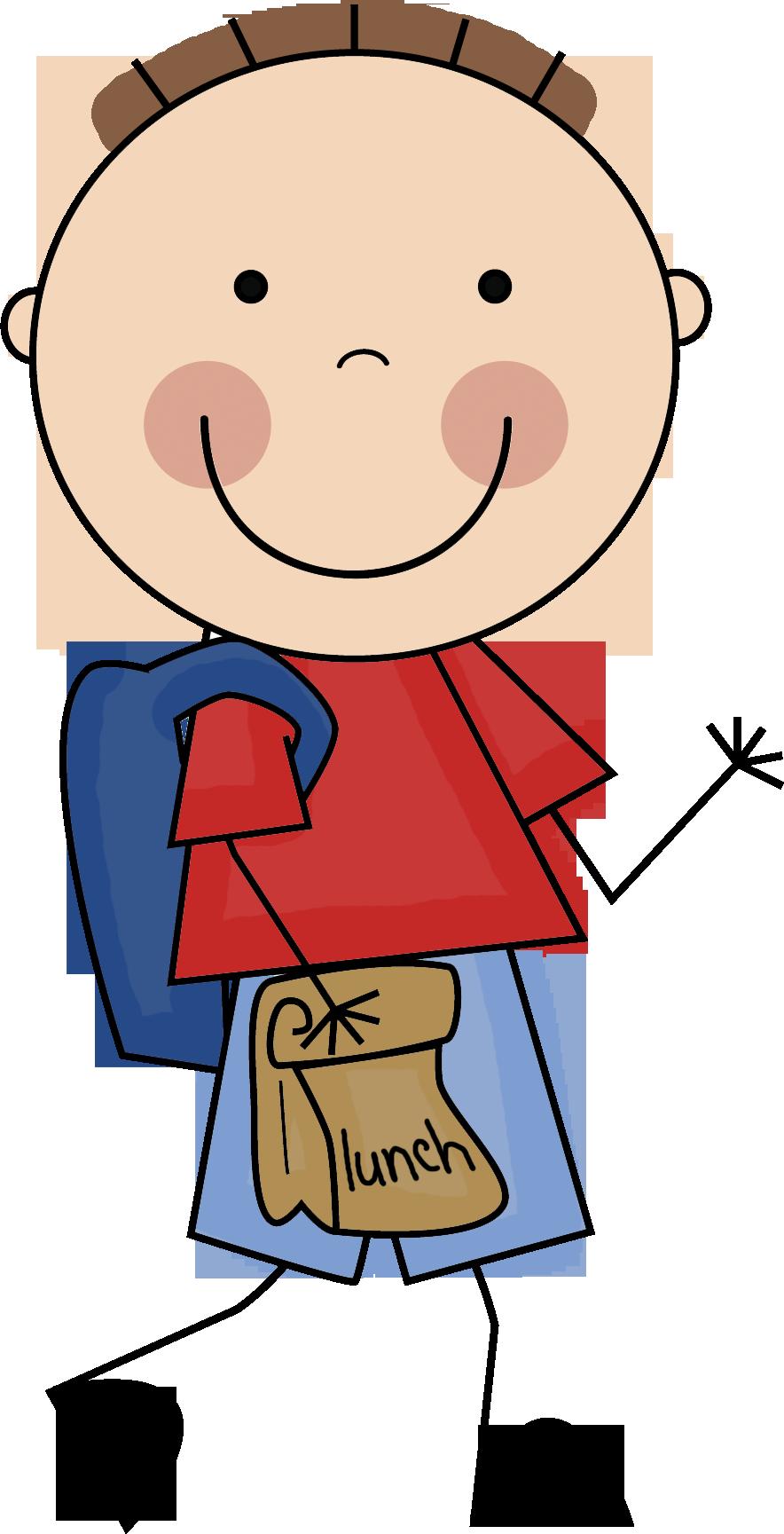 Stick figure school clipart vector transparent library scrappin doodles boys - Buscar con Google | Clock Time | Pinterest ... vector transparent library