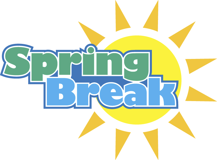 School break clipart clipart black and white library Spring Break - Foundation Academy clipart black and white library