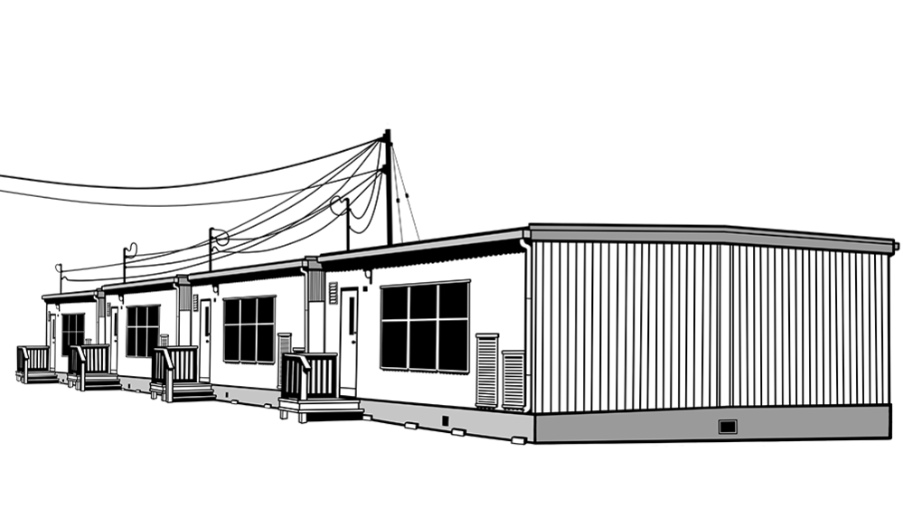 School building clipart black and white clip art black and white download School design through the decades   Mosaic clip art black and white download