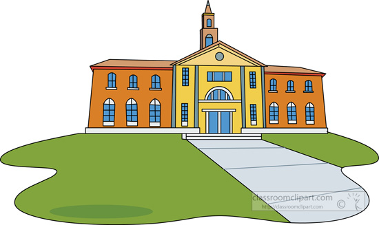 School building clipart png image College Building Clipart - Clipart Kid image