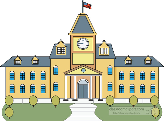 School building clipart png clip library stock University building clipart png - ClipartFest clip library stock