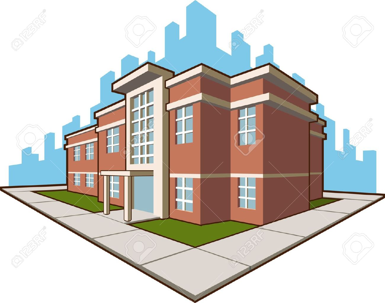School building clipart png image freeuse download University building clipart png - ClipartFest image freeuse download