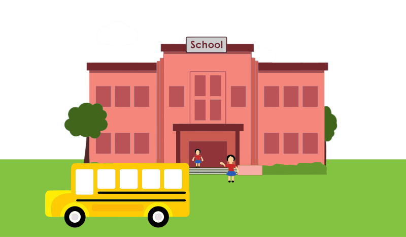 School building clipart png picture stock Free School Building Clip Art picture stock