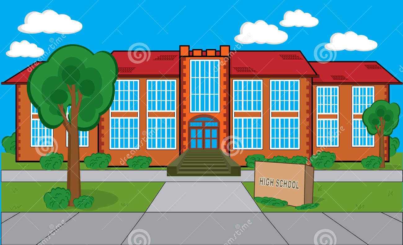 School building clipart png image library School building clipart - ClipartFest image library