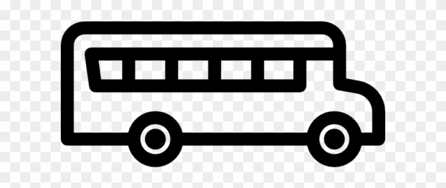 School bus clipart black and white no background clip art library Bus Clipart Icon - Png Download (#2750805) - PinClipart clip art library