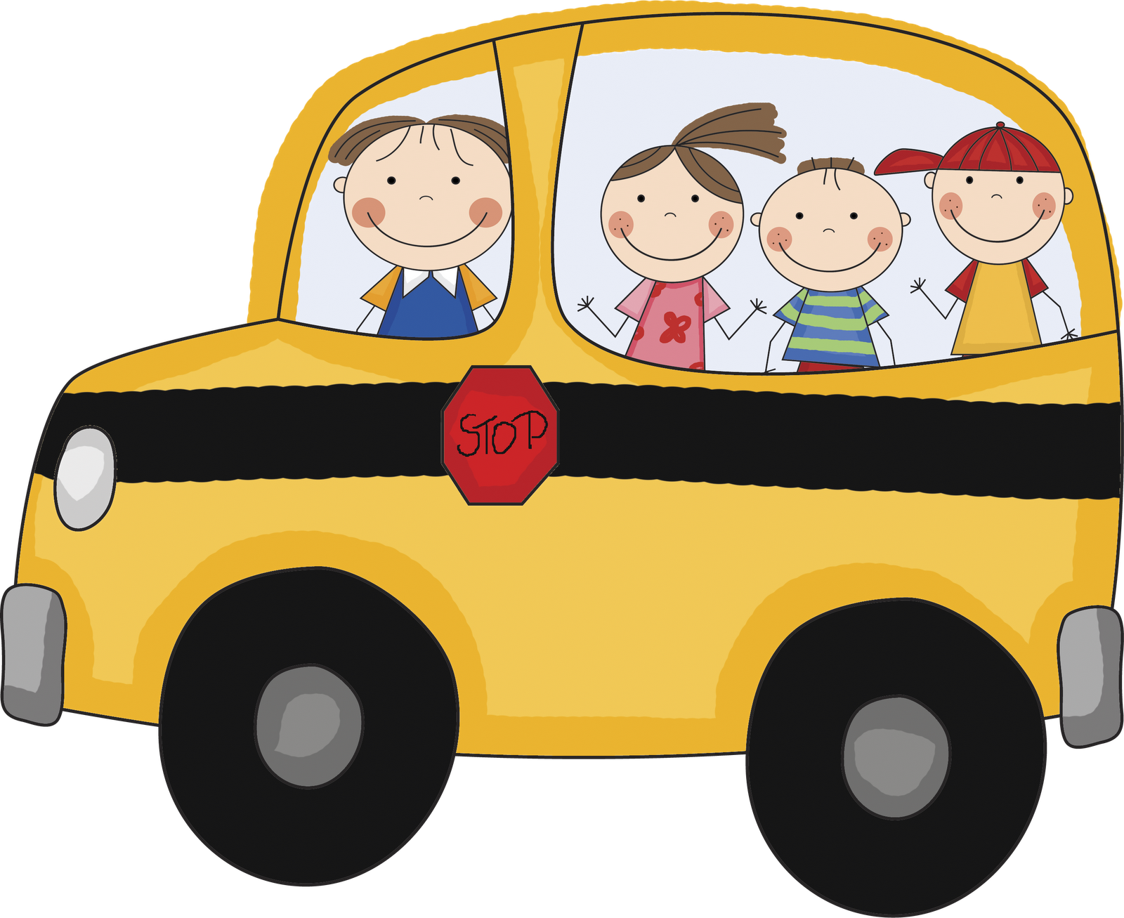 School bus clipart red lips clipart black and white library Download School Bus Images 3 School Bus Vector Clipart PNG ... clipart black and white library