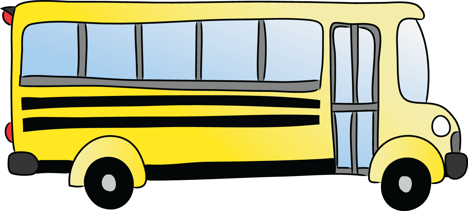 School bus flashing yellow light clipart picture freeuse download Yellow bus clipart - ClipartFest picture freeuse download
