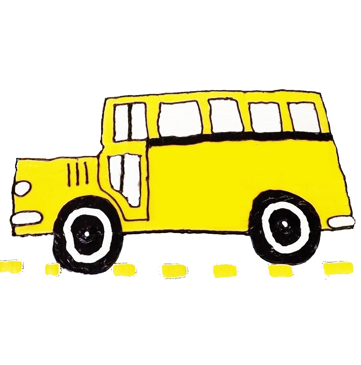 School bus flashing yellow light clipart clipart freeuse stock Pincher Creek Voice: Think of us on the yellow bus clipart freeuse stock