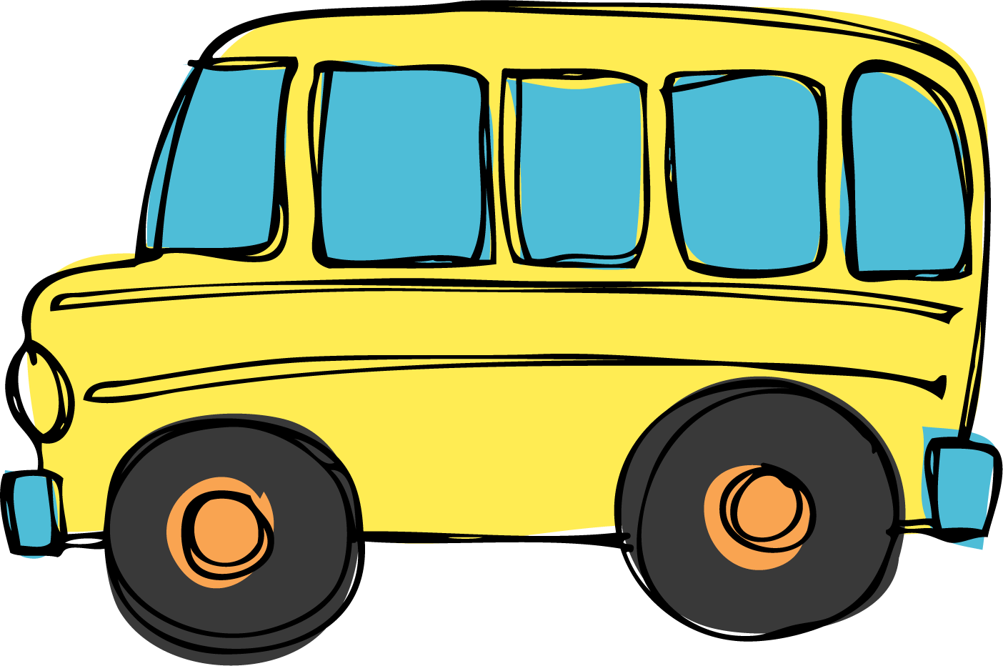 School bus front clipart clipart free download school bus template printable clipart free download