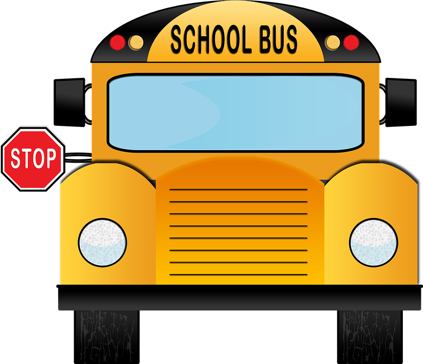 School bus front view clipart clip stock Sycamore Creek Elementary / Homepage clip stock