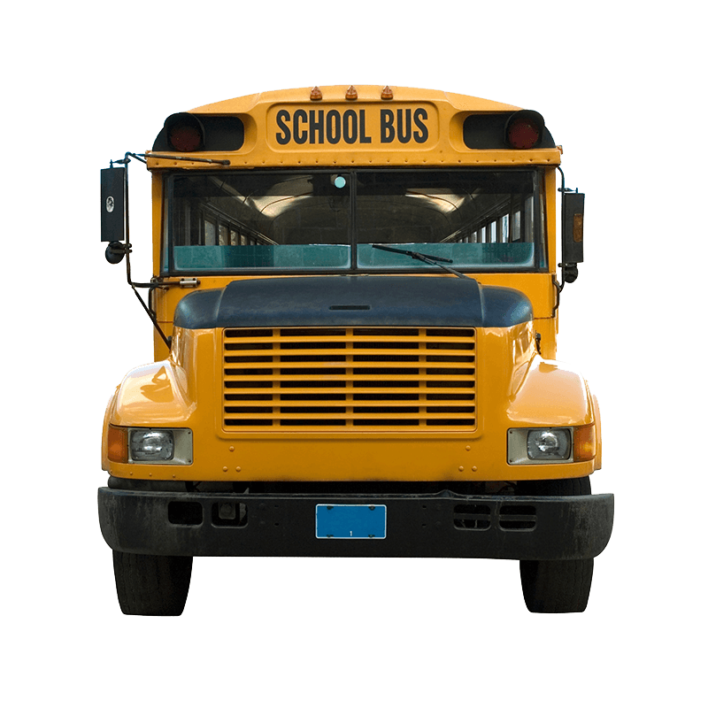 School bus front clipart banner transparent library Front School Bus transparent PNG - StickPNG banner transparent library