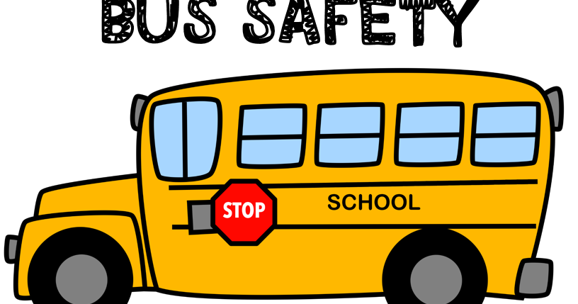 School bus safety clipart image Hopping from K to 2!: Bus Safety Activities image