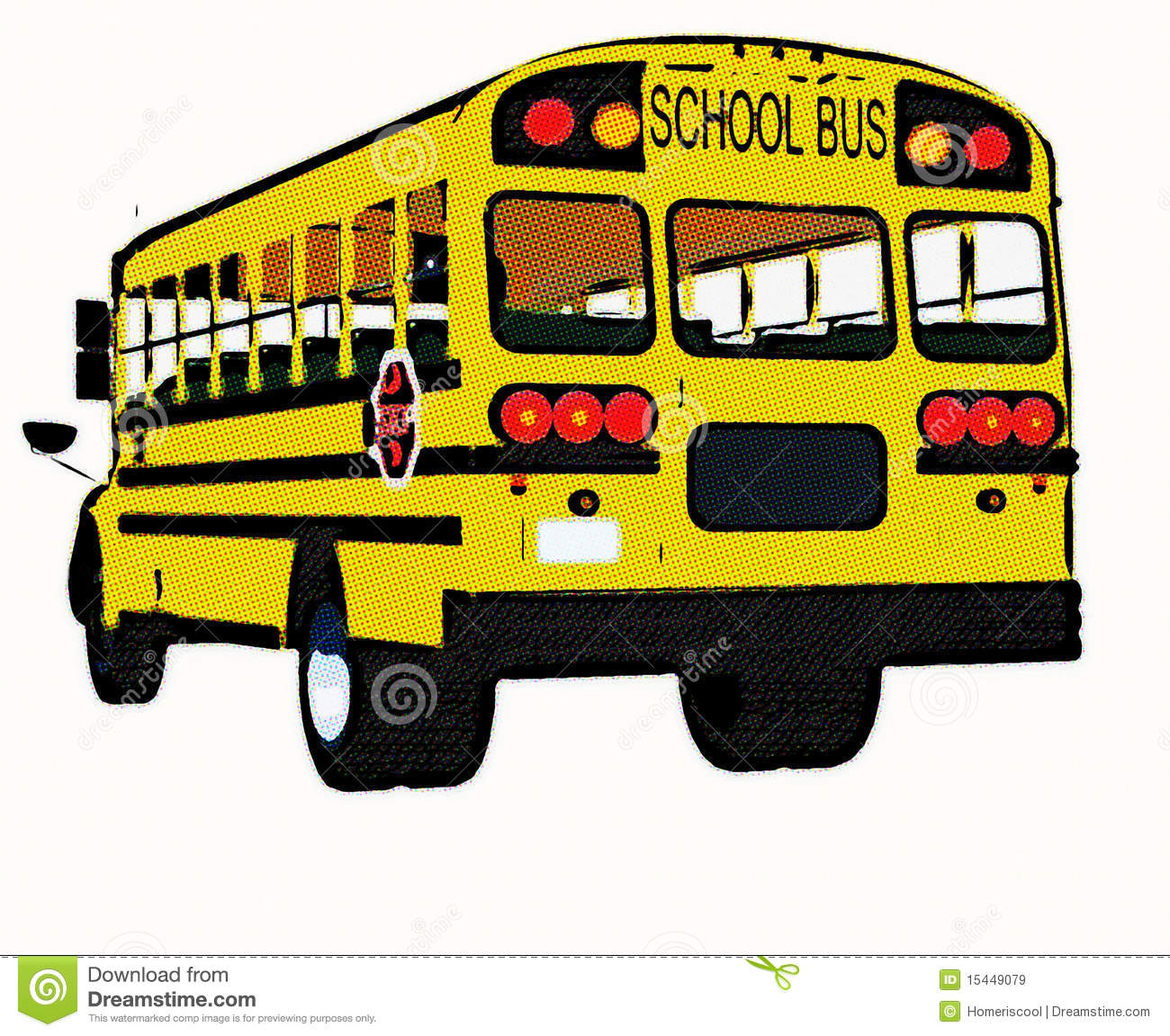School bus superman clipart black and white download Yellow american school bus | Clipart Panda - Free Clipart Images black and white download