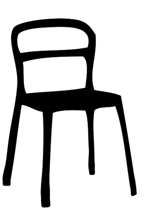 School chair clipart black and white picture freeuse library Chair Silhouette at GetDrawings.com | Free for personal use Chair ... picture freeuse library
