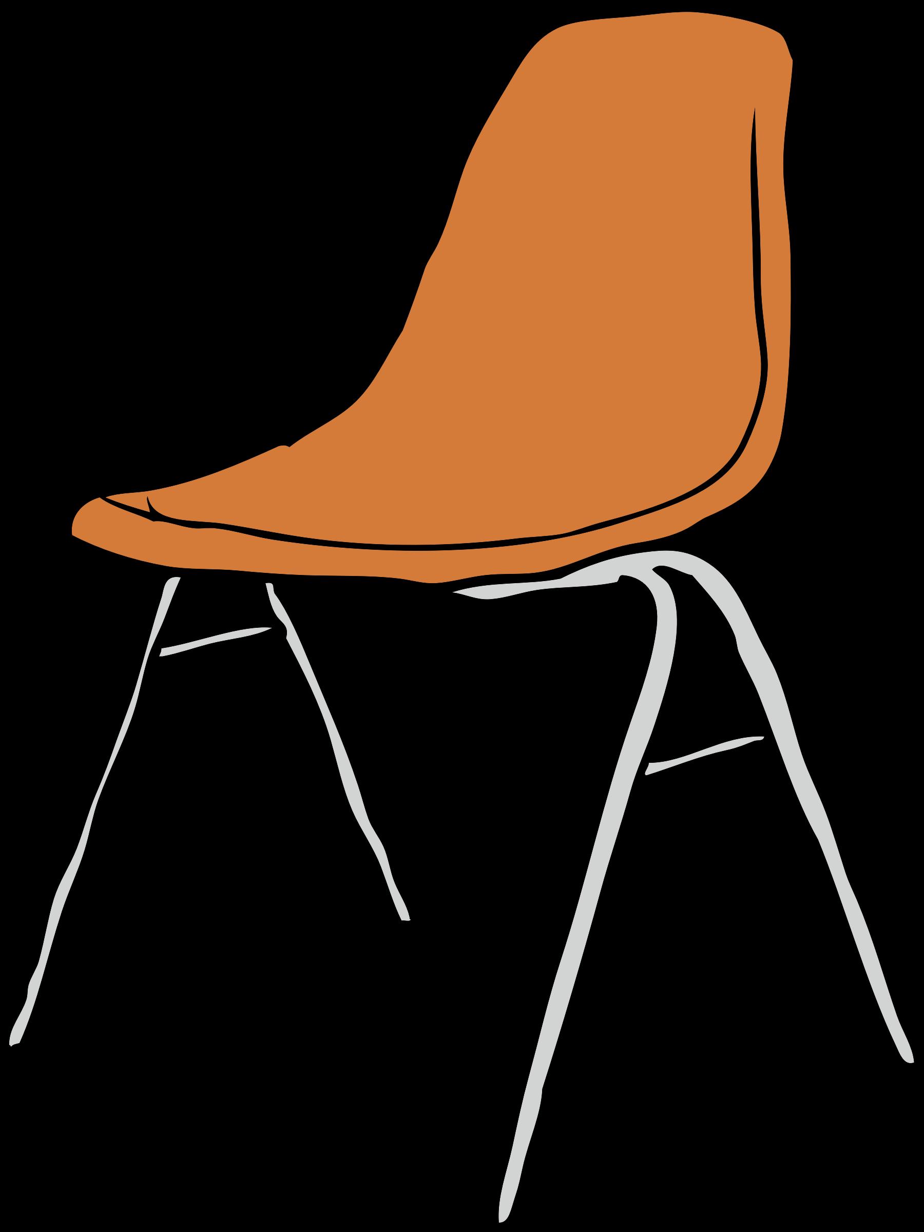 School chair clipart clip art free library Clipart - Modern Chair 3/4 Angle clip art free library