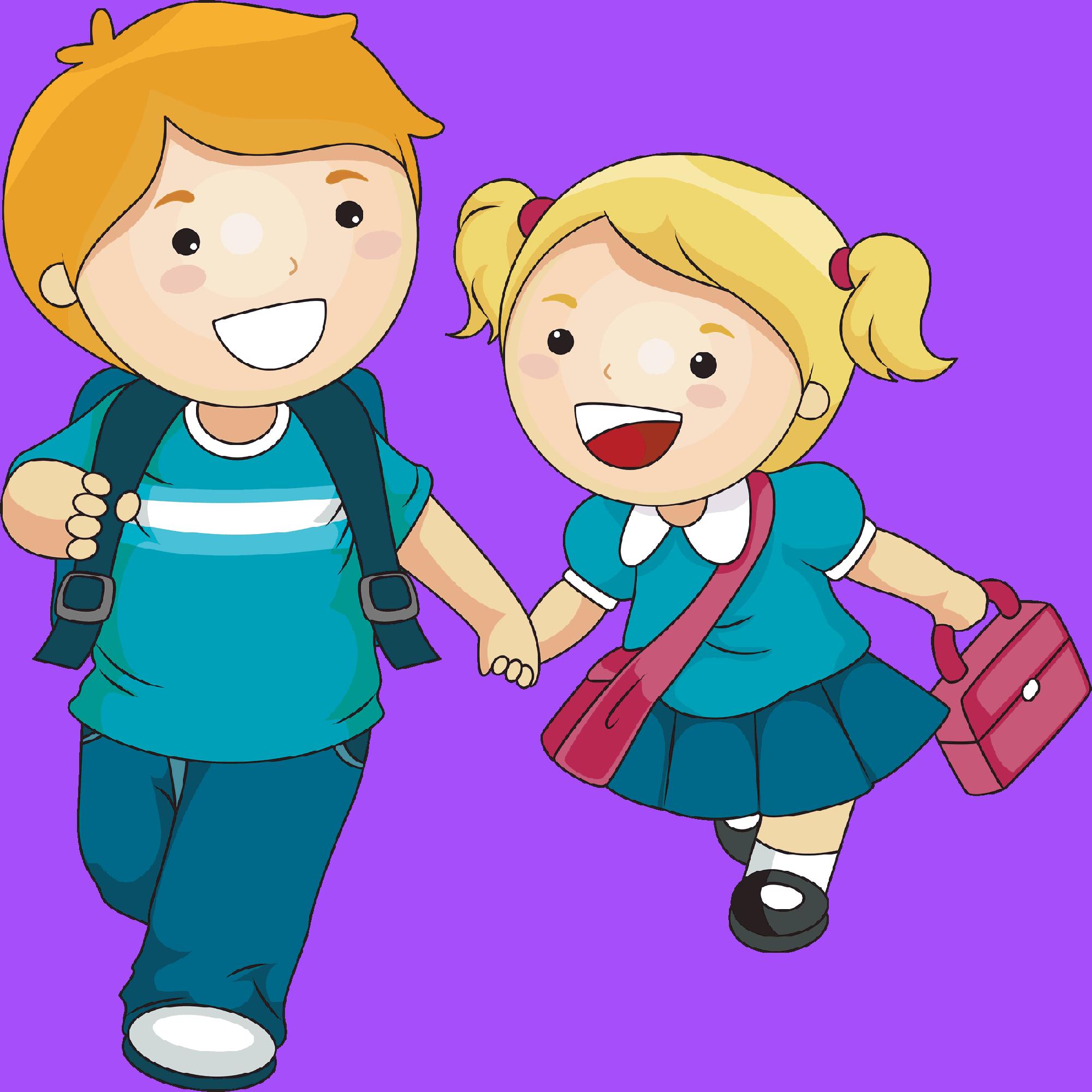 School children writing clipart svg freeuse Achievers Kinderland School svg freeuse