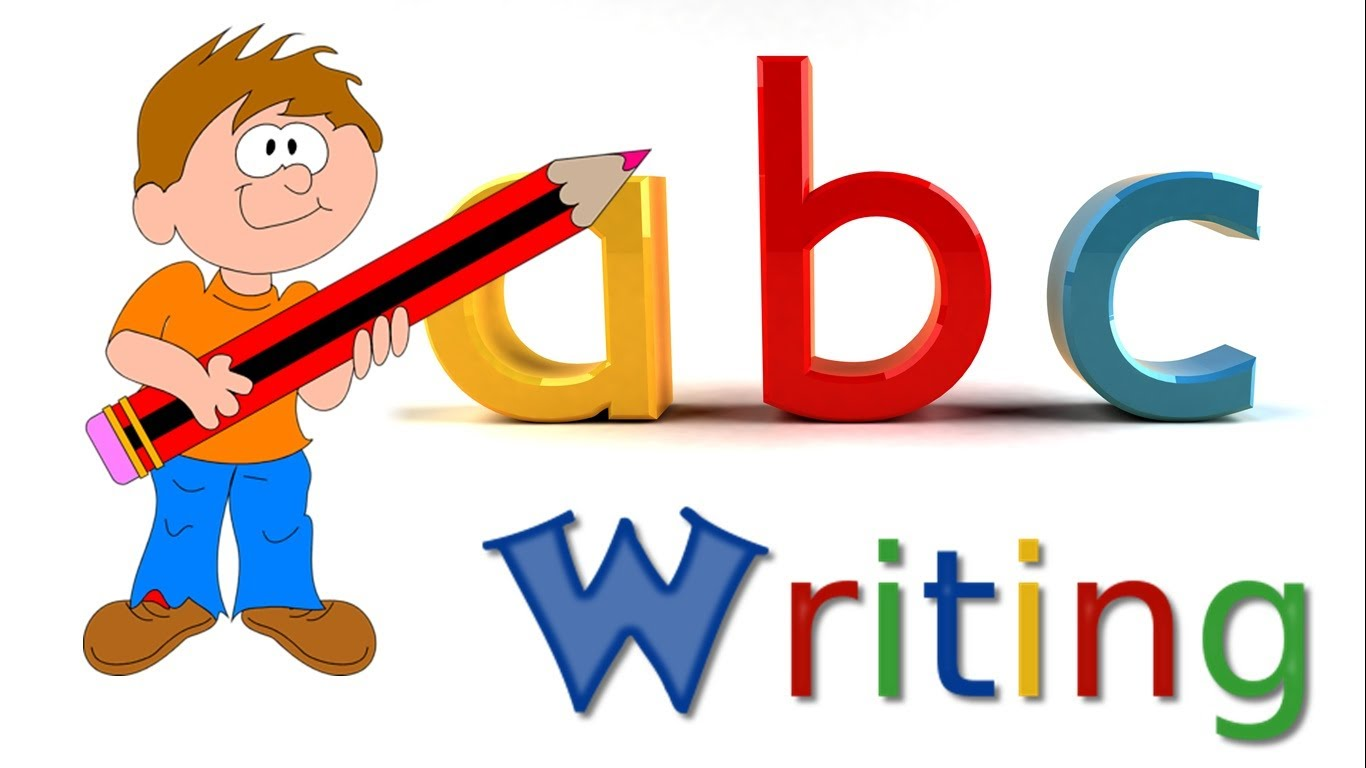 School children writing the alphabet clipart banner free stock ABC Writing | Alphabet Writing | Small Letters | Lower-Case ... banner free stock