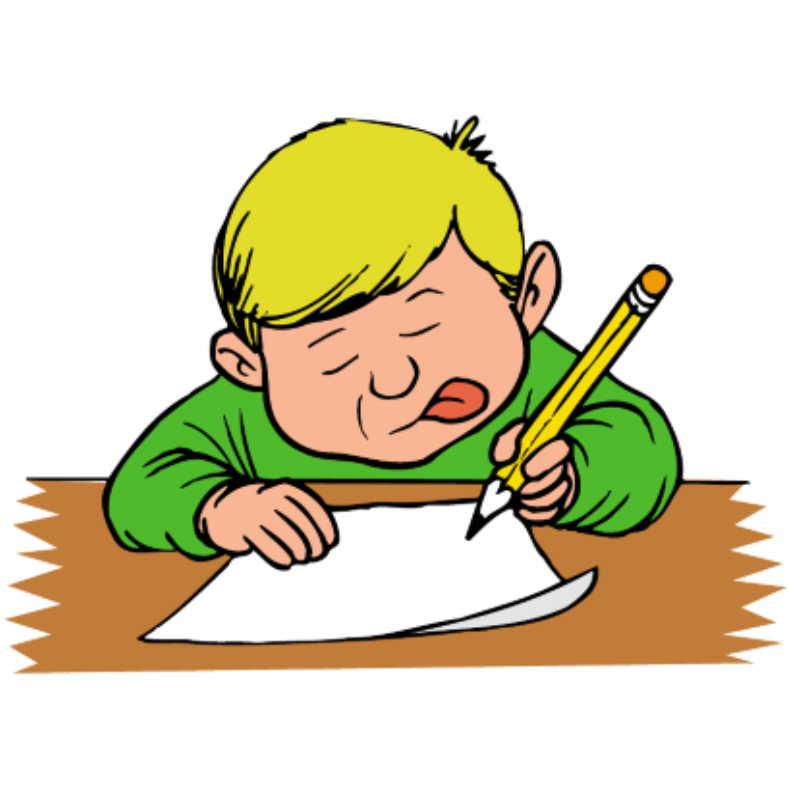 School children writing the alphabet clipart royalty free download Letters Sent Home royalty free download