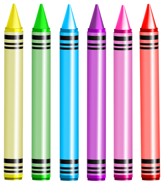 School clipart no background vector black and white Crayons PNG Transparent Clip Art Image | clipart דמויות | Pinterest ... vector black and white