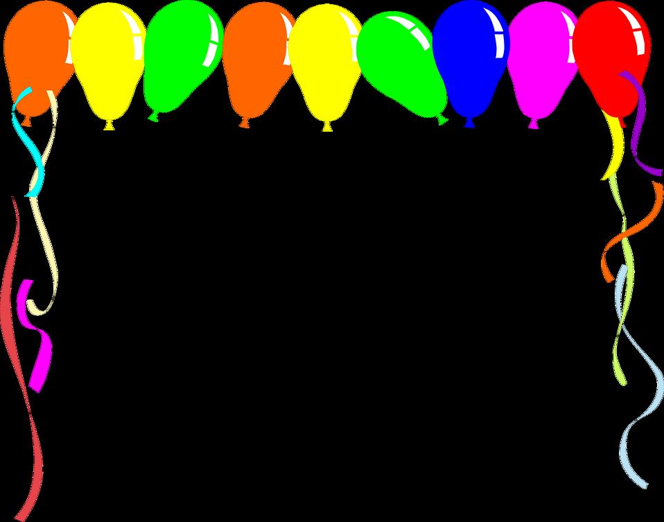 School clipart border clip free stock Balloon Border Clip Art school clipart clip free stock