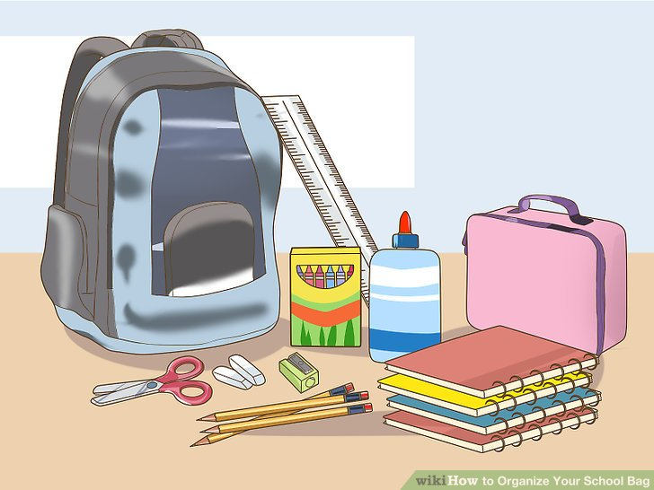 School clipart kids unpacking clip black and white library Unpack school bag clipart 7 » Clipart Station clip black and white library