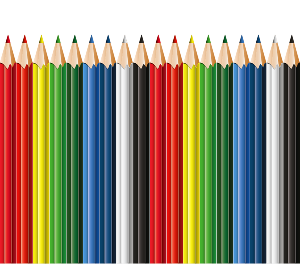 School pencil clipart transparent download School Pencils Decor PNG Clipart | Artistically and Creatively ... transparent download