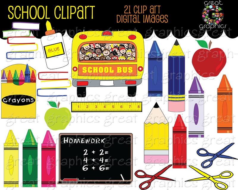 School clipart printables banner free library School clipart printables - ClipartFest banner free library