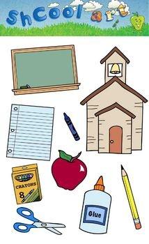 School clipart printables clip art royalty free Free Printable School Clipart clip art royalty free